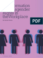 Transformation of Transgender Rights in the Workplace