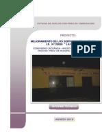 Carátula -Colegio La Perla