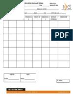 Checklist Reporte de Medicion Tierras Fisicas.