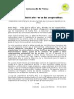 Comunicado de Prensa - Cooperativas vs Banca