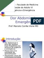 Dor Abdominal Na Sala de Emergência