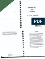 Manual de Uso - Staad III Español