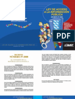 Ley de Acceso a La Informacion Publica de Guatemala