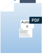 Trabajo Investigacion Autismo