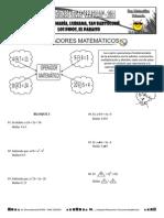 Guia Operadores Matemáticos 7 - 9 Años
