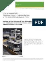 LEDS GP Case Study, Lima