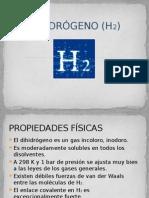 DIHIDRÓGENO (H2)
