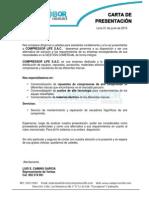 Carta Presentacion Compressor Life