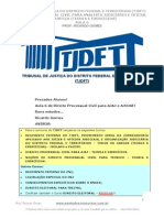 Aula 06 Proc. Civil TJDFT 2013