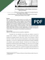 Evento de Alteridade Na História Recente - A Recepção Da Cultura Hispano Americana Na Imprensa Brasileira
