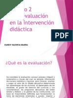 Karen Valencia Módulo 2 La Evaluación 3
