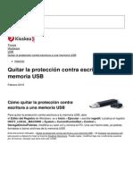 Quitar La Proteccion Contra Escritura a Una Memoria Usb 6965 Njop7u
