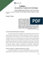 Ontologia Da Miséria e a Miséria Da Ontologia.Ontologia Da Miséria e a Miséria Da Ontologia.