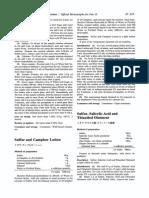 Sulfur Salicylic Acid and