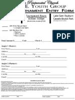 Buna Pentecostal Tournament Entry Form & Rules