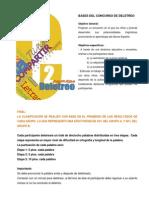 Bases Del Concurso Deletreo 2013 Final