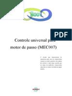 Controle Universal Para Motor de Passo
