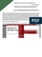 Manual de Instalación y Configuración de Snort en El Firewall PFsense