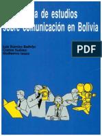 Bibliografía de Estudios Sobre Comunicación en Bolivia