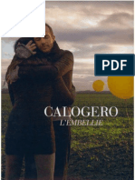 Calogero - L'Embellie - Book