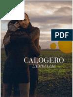 Calogero - L'Embellie - Book