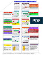 Calendari de 1 i 2 Curs de Catequesi Any 2015-2016 Pares