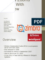 Zimbra Zooms Ahead