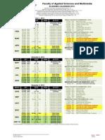 HU DIP Academic Calender 2015 ITD (Yr 1-2-3) With Internship Period