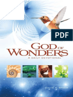 God of Wonders - Steen, David A