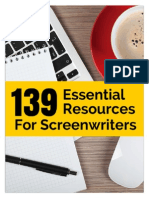 139 Essential Resources for Screenwriters