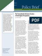 The Transatlantic Division of Labor