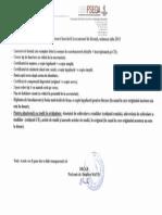 Acte Necesare Inscrierii La Examenul de Licenta, Sesiunea Iulie 2015