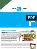 Official 2014 GivingMeTap Report