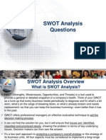 SWOT Analysis Questions
