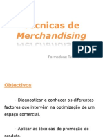 Técnicas de Merchandising Manual