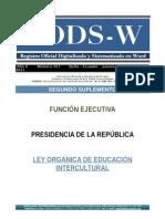 r. o. (2sp) Marzo 31 No. 417-2011nueva Ley de Educacion Registro Oficial