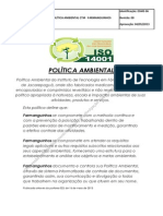 Politica Ambiental - FARMANGUINHOS