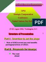 International Civil Service Commission OPM Strategic Compensation
