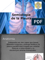 Semiologia Pleural