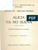Teófilo Cid- Alicia Ya No Sueña