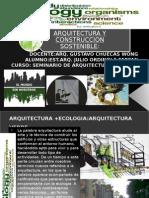Arquitectura y Construccion Sostenible