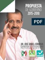 Propuesta de gobierno Córdova