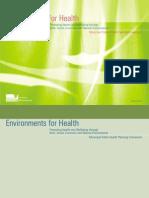Environments for Health Municipal Public Health Planning Framework - SGV Australia - 2001