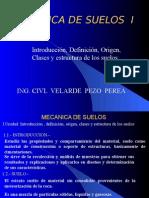 01 Origen y Estructura de Los Suelos-1era Clase