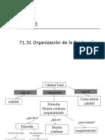 Calidad Organizacion de La Produccion