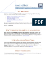 BCAP Newsletter May2009 Edition