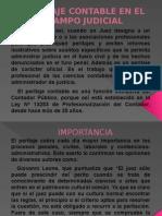 Peritaje Contable en El Campo Judicial Diapositiva