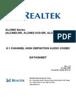 ALC662 DataSheet 1.3