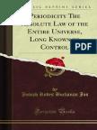 Joseph Buchanan - Periodicity the Absolute Law of the Entire Universe