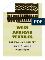 West African Textiles